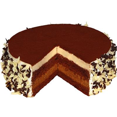 Írkávé mousse torta