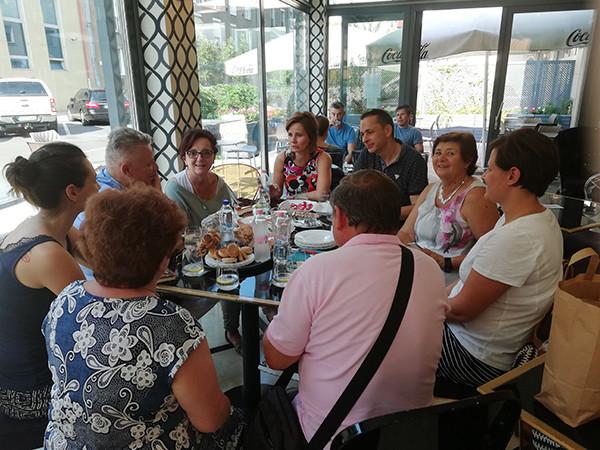 Debrecen Város Tortája bemutatása a sajtó előtt