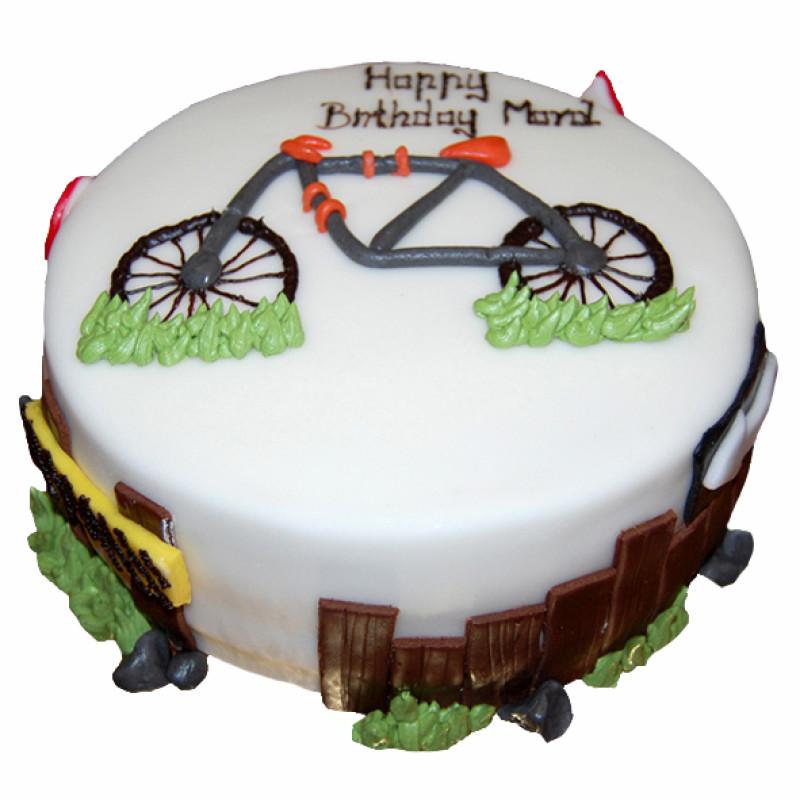 biciklis torta képek Alkalmi biciklis torta   AL188   Mandula Cukrászdák   Debrecen biciklis torta képek